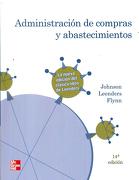 Administracion de Compras y Abastecimientos - James. P Johnson - Mcgraw-Hill