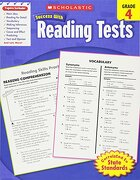 Scholastic Success With Reading Tests,  Grade 4 (Scholastic Success With Workbooks: Tests Reading) (libro en Inglés) - Scholastic - Scholastic Teaching Res