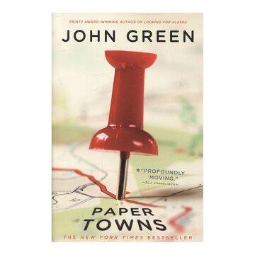 portada Paper Towns (libro en Inglés)