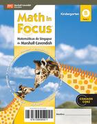Math in Focus. Matematicas de Singapur (Texto del Alumno Kindergarten - Santillana - Marshall Cavendish Santillana