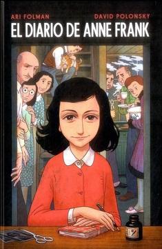 portada El Diario de Anne Frank (Novela Gráfica)