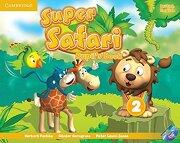 Super Safari Level 2 Pupil's Book With Dvd-Rom (libro en Inglés) - Herbert Puchta; GÜNter Gerngross; Peter Lewis-Jones - Cambridge University Press
