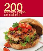200 Recetas Bajas en Calorias - Blume - Blume