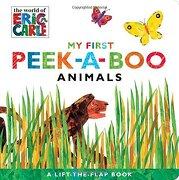 My First Peek-A-Boo Animals (The World of Eric Carle) (libro en Inglés) - Eric Carle - Little Simon