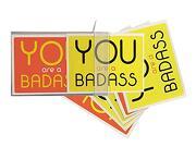You are a Badass (r) Notecards: 10 Notecards and Envelopes (libro en Inglés)