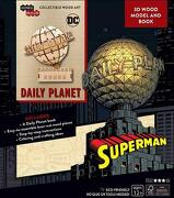 Incredibuilds: Dc Comics: Superman: Daily Planet 3d Wood Model and Book (libro en Inglés)