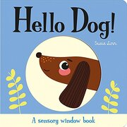 Peek-A-Boo Little Dog! (Touch and Trace) (libro en Inglés)