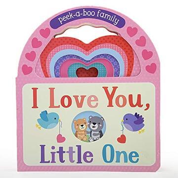 portada I Love You, Little One: Peek-A-Boo Family (libro en Inglés)