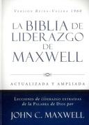 La Biblia de Liderazgo de Maxwell Rvr60- Tamano Manual