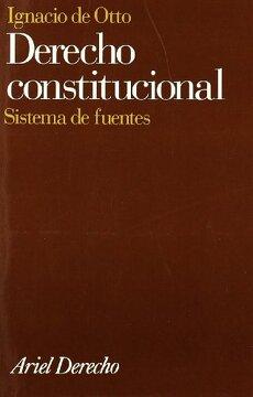 portada Derecho Constitucional: Sistema de Fuentes