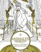 Animales Fantasticos y Donde Encontrarlos: Personajes y Lugares Magicos. Libro Para Colorear - Harpercollins Espanol - Harper Collins