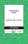 Critica del Juicio - Immanuel Kant - Austral