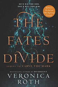 portada The Fates Divide (Carve the Mark) (libro en Inglés)