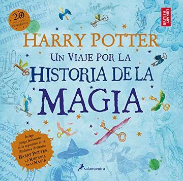 portada Harry Potter: Un Viaje por la Historia de la Magia