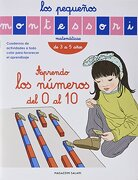 Los Pequeños Montessori - Aprendo los Numeros del 0 al 10 - Vv., Aa., Vv. Aa. - Magazzini Salani