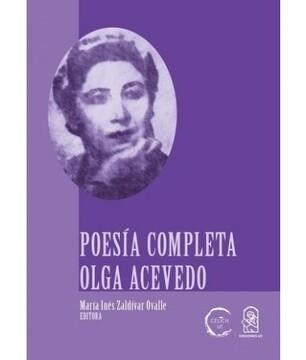 portada Poesía Completa Olga Acevedo
