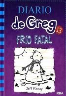portada Diario de Greg 13. Frío Fatal - Jeff Kinney - Molino