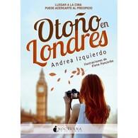 portada Otoño en Londres - Andrea Izquierdo - Nocturna Ediciones