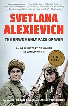 portada The Unwomanly Face of War: An Oral History of Women in World war ii (libro en Inglés)