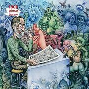 Adult Jigsaw r. Crumb: Who's Afraid of Robert Crumb?  1000 Piece Jigsaw (1000-Piece Jigsaws) (libro en Inglés)