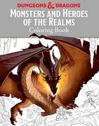 Monsters and Heroes of the Realms: A Dungeons & Dragons Coloring Book (Ologies) (libro en Inglés) - Templar Books - Candlewick