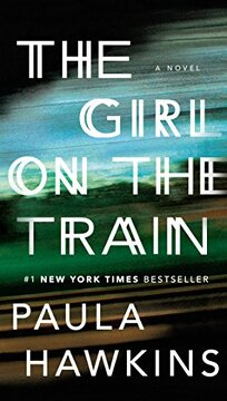 portada The Girl on the Train: A Novel (libro en Inglés)
