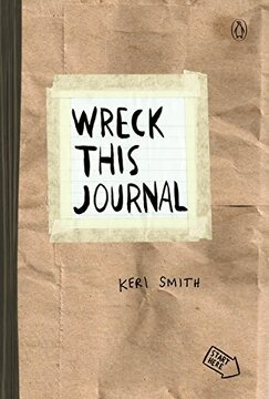 portada Wreck This Journal (Paper Bag) Expanded ed. (libro en Inglés)