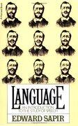 Language: An Introduction to the Study of Speech (libro en Inglés) - Edward Sapir - Houghton Mifflin