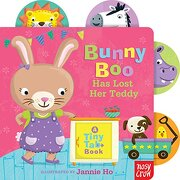 Bunny boo has Lost her Teddy: A Tiny tab Book (libro en Inglés) - Nosy Crow - Nosy Crow