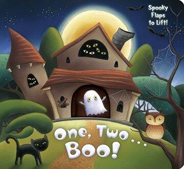 portada One, Two.   Boo! (libro en Inglés)