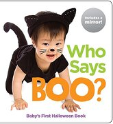 Who Says Boo?  Baby's First Halloween Book (hl Baby Mirror Board Books) (libro en Inglés) -  - Highlights Pr