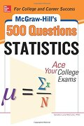 Mcgraw-Hill's 500 Statistics Questions (Mcgraw-Hill 500 Questions) (libro en Inglés)