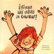 Vivan las Uñas de Colores! - Alicia Acosta - Nubeocho