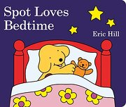 Spot Loves Bedtime (libro en Inglés) - Eric Hill - Warne