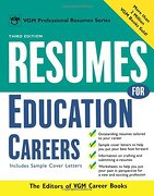 Resumes for Education Careers (Mcgraw-Hill Professional Resumes) (Vgm's Professional Resumes Series) (libro en Inglés) - Editors Of Vgm - Mc Graw-Hill