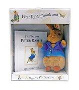 Peter Rabbit Book and toy (libro en Inglés) - Beatrix Potter - Warne