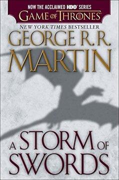 portada A Storm of Swords: A Song of ice and Fire: Book Three (libro en Inglés)
