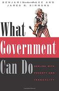 What Government can do: Dealing With Poverty and Inequality (American Politics and Political Economy) (libro en Inglés) - Benjamin I. Page; James R. Simmons; James Roy Simmons - University Of Chicago Press
