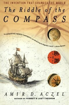 portada The Riddle of the Compass: The Invention That Changed the World (libro en Inglés)