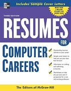 Resumes for Computer Careers (libro en Inglés) - Mcgraw-Hill - Mc Graw-Hill