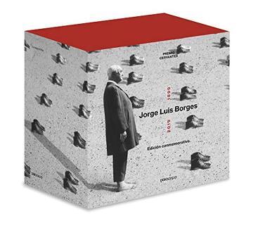 portada Jorge Luis Borges 1899-2019 (Edición Estuche): Cuentos Completos   Poesía Completa   el Hacedor   Historia de la Eternidad   Inquisiciones