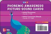 Sra Phonemic Awareness Picture-Sound Cards (libro en Inglés)