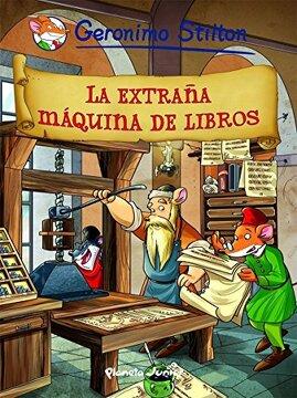portada La Extraña Máquina de Libros