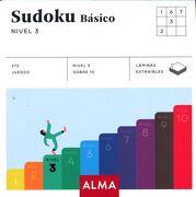 Sudoku Basico Nivel 3 - Varios Autores - Alma