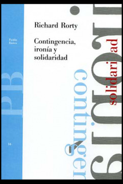portada Contingencia, Ironia y Solidaridad