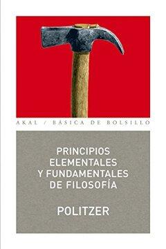 portada Principios Elementales y Fundamentales de Filosofia