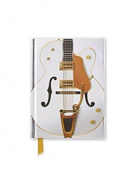 portada White Guitar (Foiled Pocket Journal) (Flame Tree Pocket Books) (libro en Inglés)