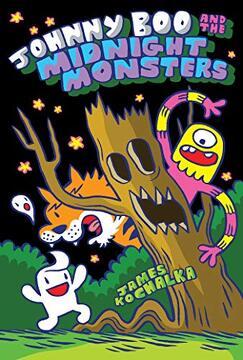 portada Johnny boo and the Midnight Monsters (Johnny boo Book 10) (libro en Inglés)