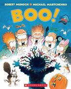Boo! [Paperback] [Jan 01, 2004] Robert Munsch (libro en Inglés)
