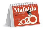 MAFALDA 2020 CALENDARIO ESCRITORIO - ROJA